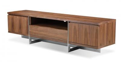 walnut wood media unit