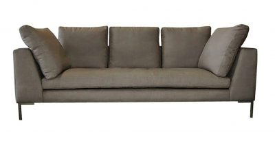 Grey Bugatti Fabric Sofa
