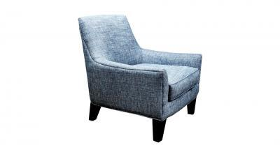 Blue Fabric Chair