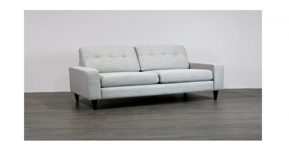back tufted cushions condo sofa