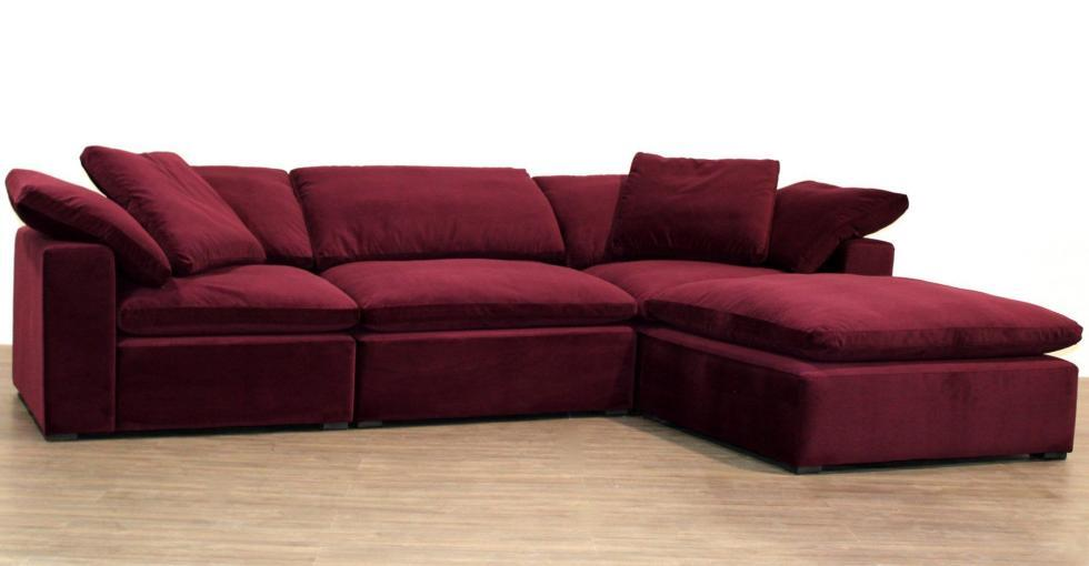 Cloud Modular Fabric Sectional