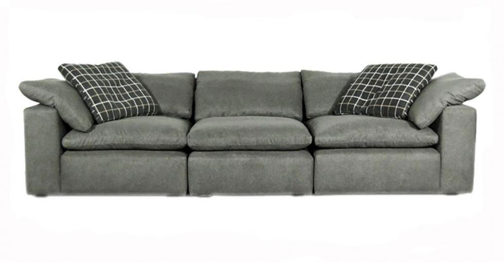Grey Cloud Modular Fabric Sofa