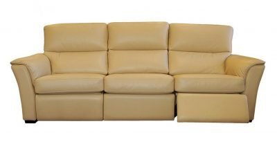 Connie Leather Recliner Sofa