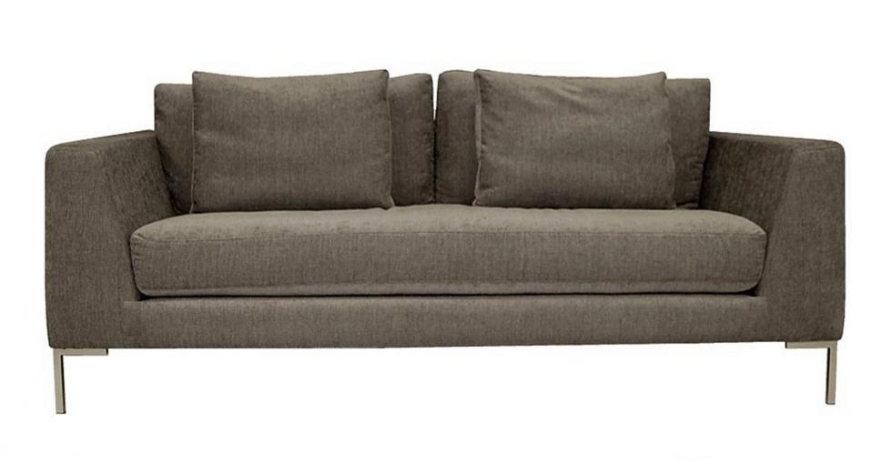 Grey Italia Fabric Sofa