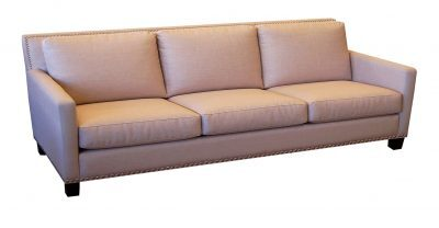 3 over 3 fabric sofa
