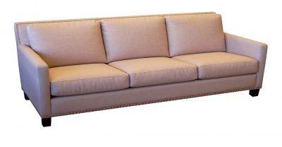 3 over 3 fabric sofa