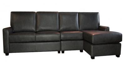 Stockholm Leather Sectional Sleeper Sofa