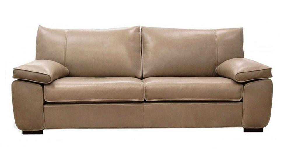 Charles Leather Sofa