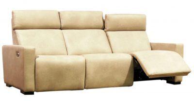Giuliana Leather Recliner Sofa