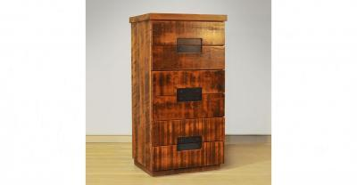 6 drawer wood chest