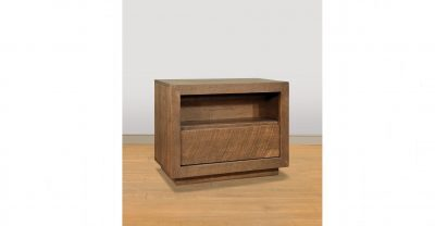 1 drawer wood nightstand