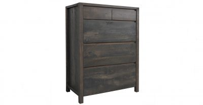 4 drawer wood chest