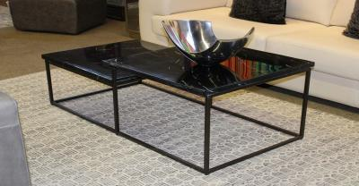 2 tier marble coffee table clearance