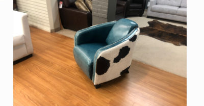 chair with hair on hide clearance