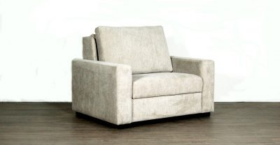 Dublin Fabric Single Sleeper Sofa