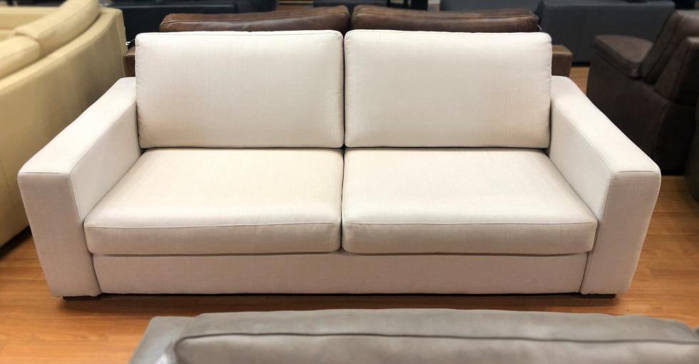 fabric sofa clearance