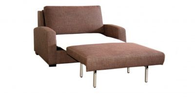 Vienna Opened Single Fabric Sleeper Sofa