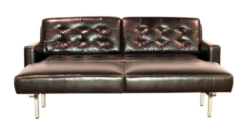 Oslo Opened Leather Sleeper Sofa