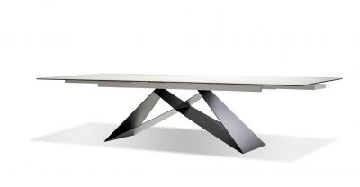extension italian ceramic dining table