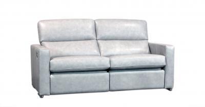 leather condo recliner sofa