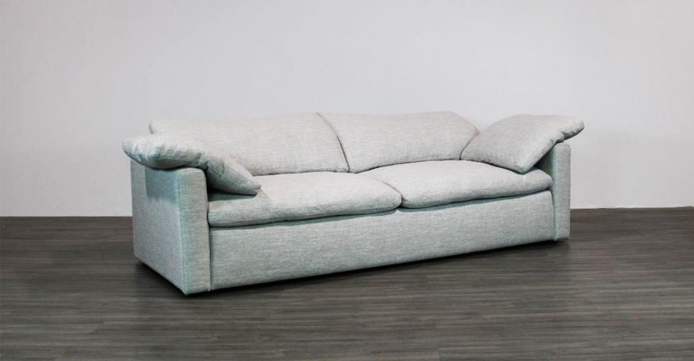 track arm fabric sofa