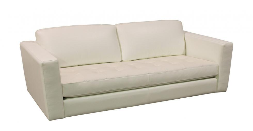 tufted bench seat with wood base